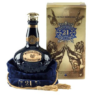 WHISKY CHIVAS 21 ROYAL SALUTE